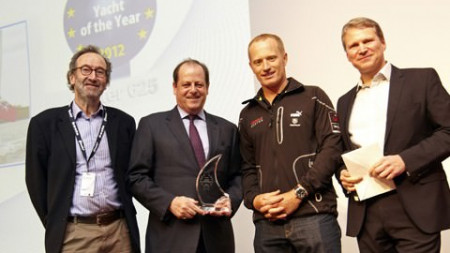 Oyster 625 wins European Yacht of the Year