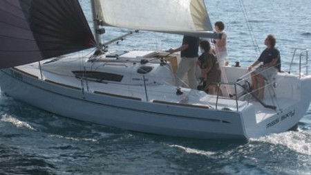 Elan 310 takes to the water