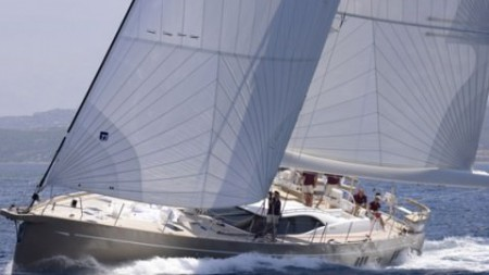 OYSTER 885 IN THE YCCS SUPERYACHT REGATTA