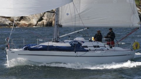 Elan leading the field in Norwegian shorthanded sailing