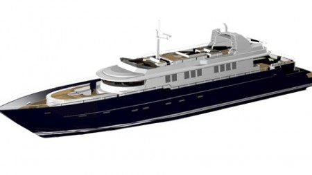 37 metre High Performance Motor Yacht begins construction