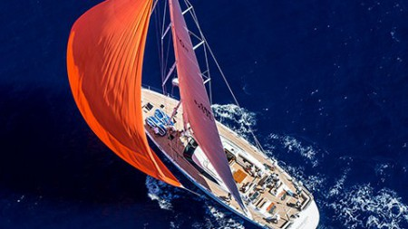 Maegan triumphs at the Superyacht Cup