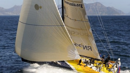 Team Russia Finish Leg 1 of the Volvo