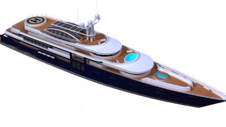 ON THE DRAWING BOARD: 100m Motor Yacht