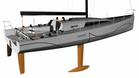 Orca Class40 by Humphreys Yacht Design and Ocean tec