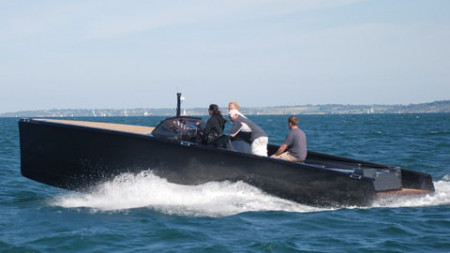 The first C-boat launches in Lymington