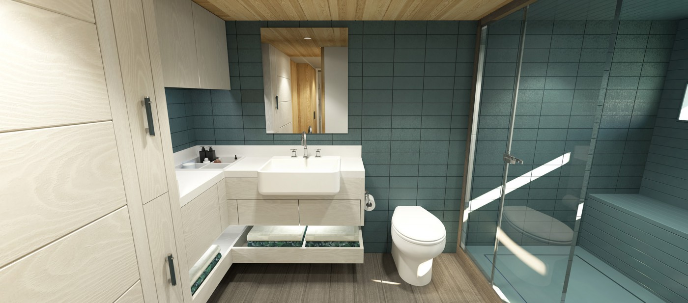 Arksen 85 Master Bathroom Visual