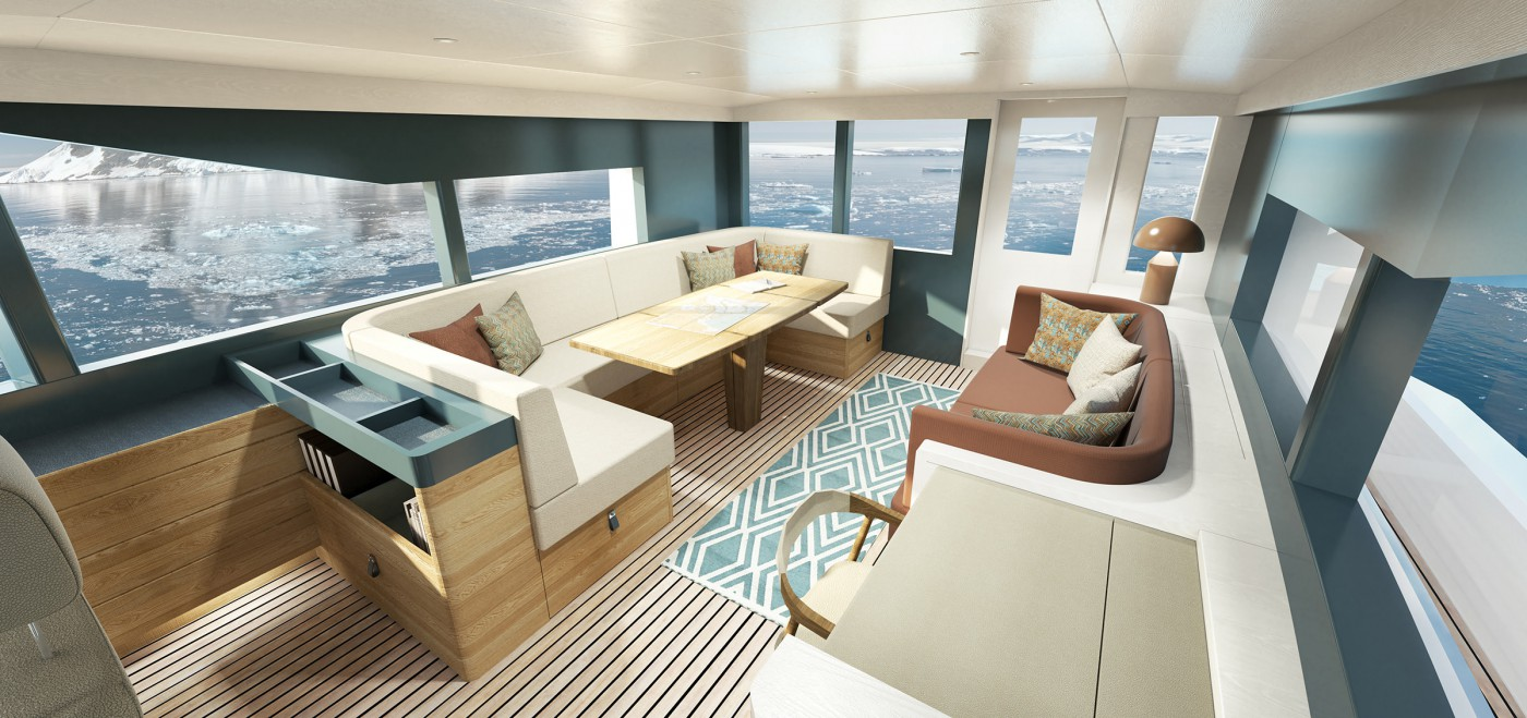 Arksen 85 Upper Deck AFT Visual