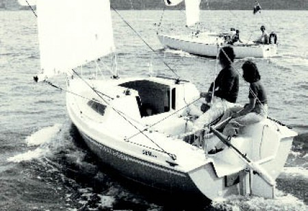 1981 Gem top production boat prize in Micro Cup