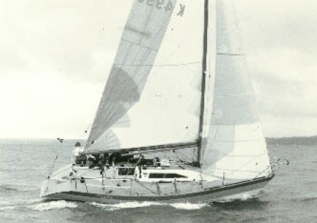 1984 Flash second in Half Ton World Championships