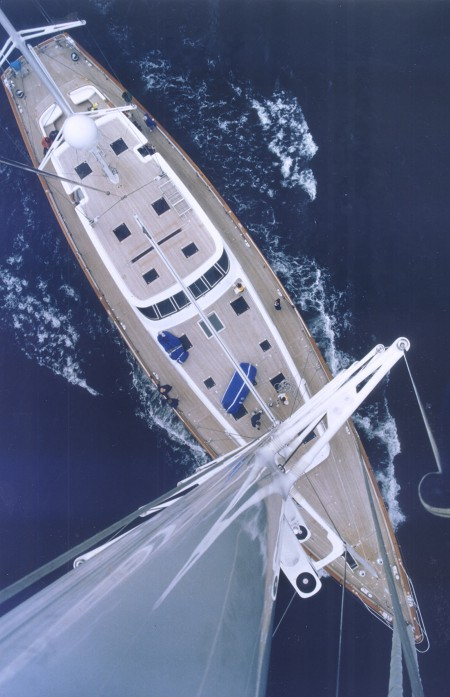 1993 Cyrano de Bergarac 128ft Cruising Ketch wins Showboat International The Most Innovative Yacht of 1993