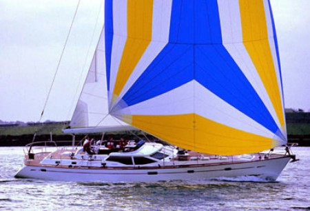 1997 Oyster 56 sells eleven units before launch an Oyster record.